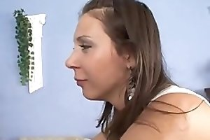 Young woman poops in panties and pissing