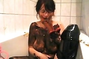 Shit covered MILF