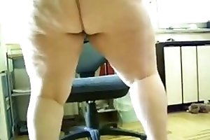 Very fat BBW scat and piss