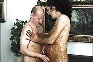 Scat and fisting loving couple