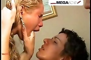 Lesbian extreme puking orgy with latinas