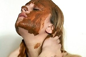 Dirty bitch tasting her own crap